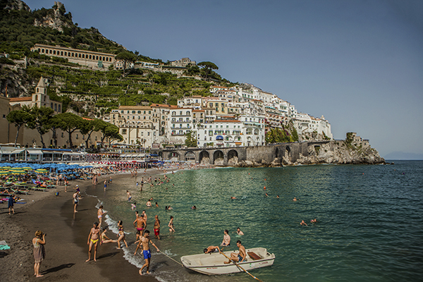 summer fun in amalfi